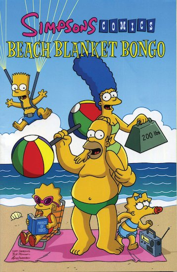 Simpsons Comics: Beach Blanket Bongo