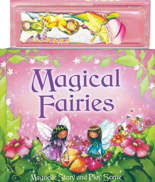 Magnetic Play Scene: Magical Fairies