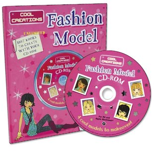 Fashion Model CD-ROM