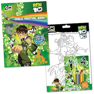Ben 10 Colouring and Magic Painting Set