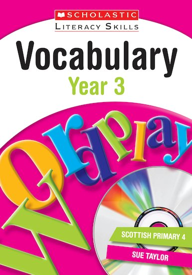 Vocabulary - Year 3 (Teacher resource)