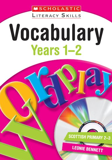 Vocabulary - Years 1-2 (Teacher Resource)