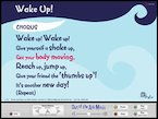 Wake Up! - interactive song