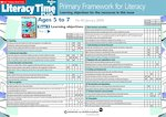 Primary Framework - Literacy Time PLUS Ages 5 to 7, Issue 40  (2 pages)