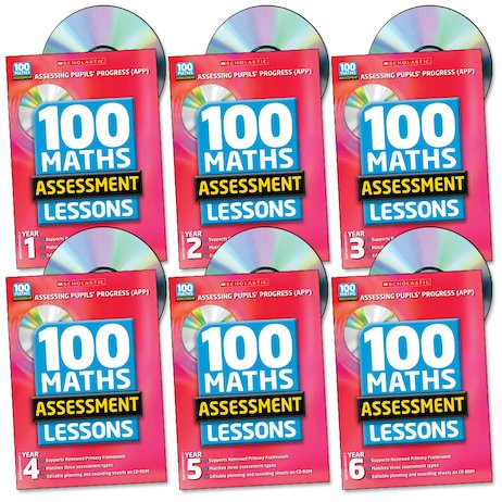 100 Maths Assessment Lessons Complete Pack