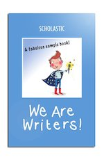 Sample We Are Writers cover (blue)