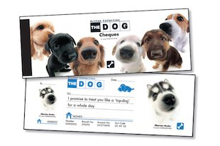 The Dog Promise Cheques