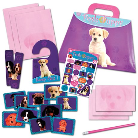 Posh Puppy Stationery Set
