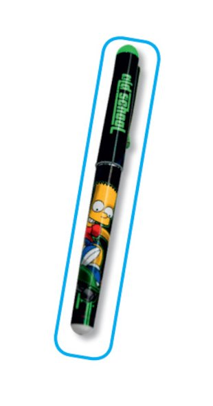 FREE Bart Simpson pen!