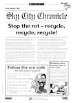 Eco-island newsletter - Stop the rot! (1 page)