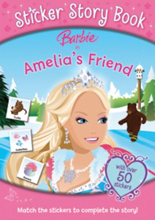 Barbie: Amelia's Friend Sticker Story Book