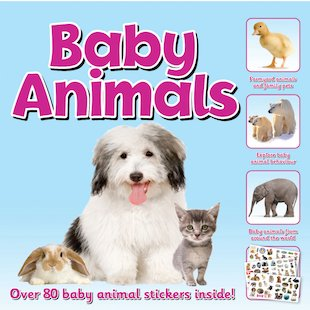 Baby Animals Sticker Station