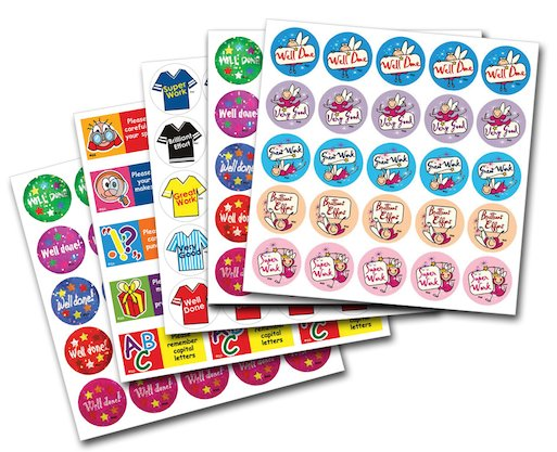 Superstickers - Primary Pack