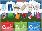 Sort the rubbish recycling game