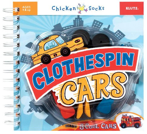 Clothespin Cars