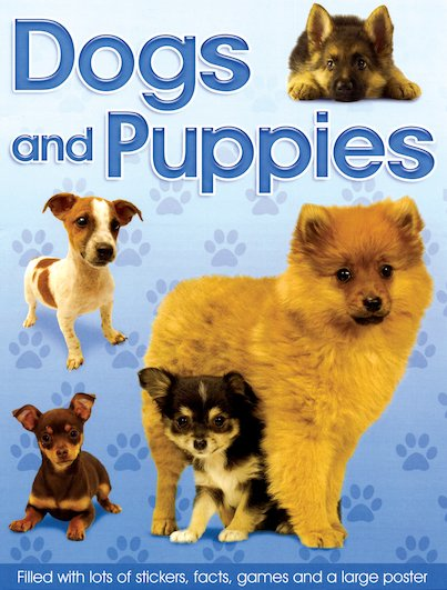 Dogs and Puppies Fun Folder