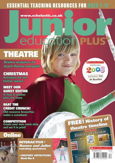 Junior Education PLUS December 2008