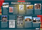 History of theatre – poster