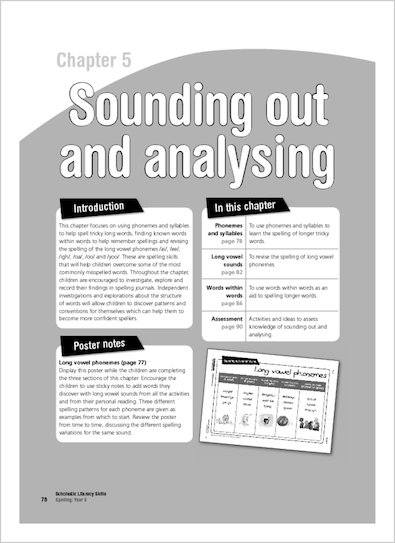 Sounding out and analysing