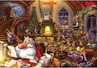 Santa's workshop poster