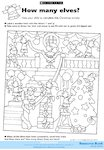 How many elves? activity (1 page)