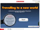 Travelling to a new world – interactive