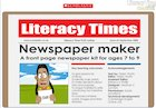 Newspaper maker interactive resource (ages 7-9)