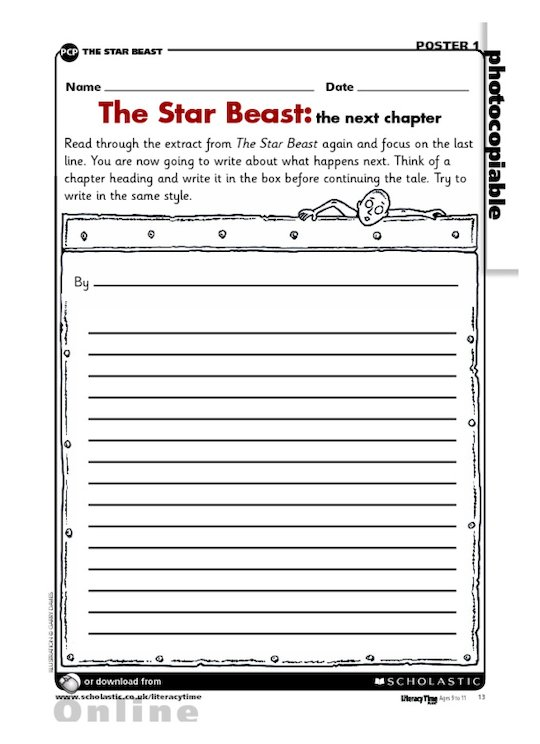 'The Star Beast' - the next chapter