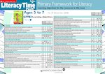 Primary Framework - Literacy Time PLUS Ages 5 to 7, Issue 39  (2 pages)