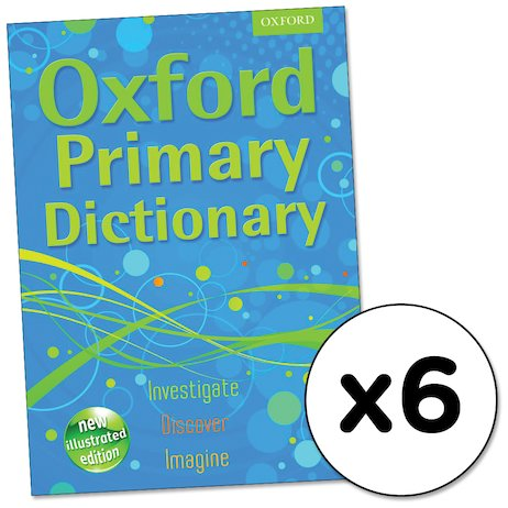 Oxford Primary Dictionary x 6