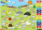 Garden colours – interactive resource
