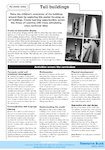 Tall buildings - activities (1 page)