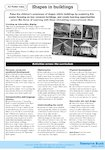 Shapes in buildings - activities (1 page)