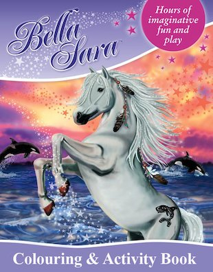 Bella Sara: Colouring and Activity Book