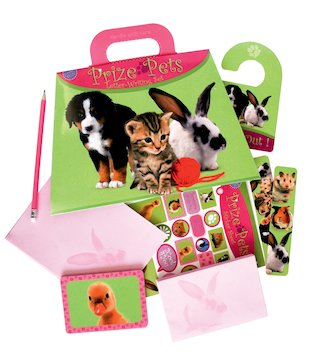 Prize Pets Stationery Set