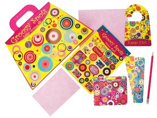 Groovy Spots Stationery Set