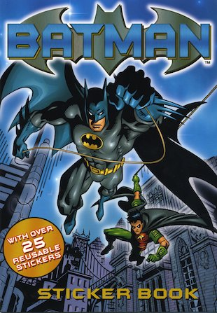 Batman Sticker Book