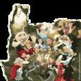 Illustration of fairytale characters