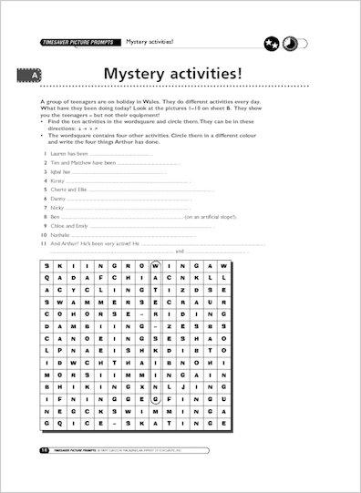 Mystery Activites!