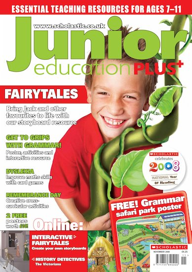 Junior Education PLUS November 2008