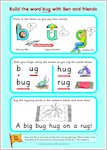 Letterland eco-poster activity sheets (4 pages)