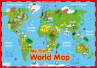 My first world map – poster