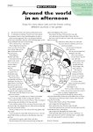 Around the world in the afternoon - story (1 page)