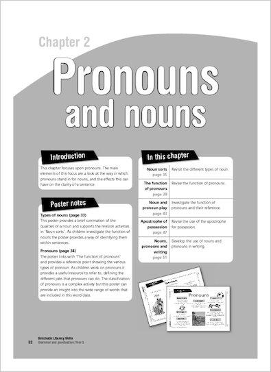 Pronouns and nouns