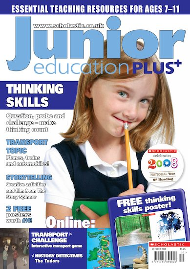 Junior Education PLUS October 2008