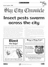 Eco-island newsletter – Insect pests