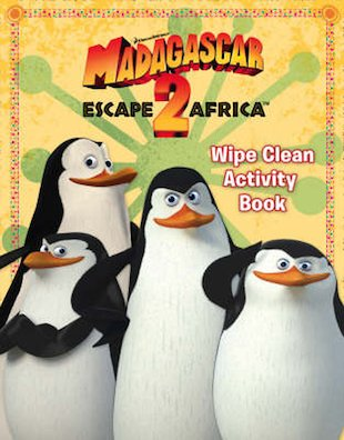 Madagascar 2 Wipe-Clean Activity Book