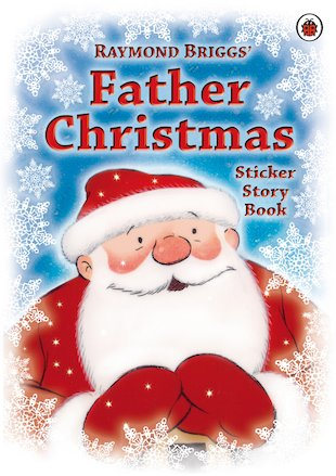 Father Christmas Sticker Story Book