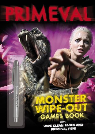 Primeval: Monster Wipe-Out Games Book
