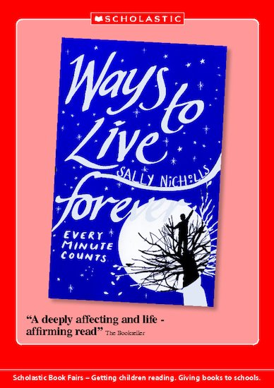 Book Talk Note: Ways to Live Forever